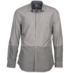 Clothing Men long-sleeved shirts Diesel SAUSAN Grey