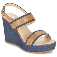 Shoes Women Sandals JB Martin ORIGAMI DENIM