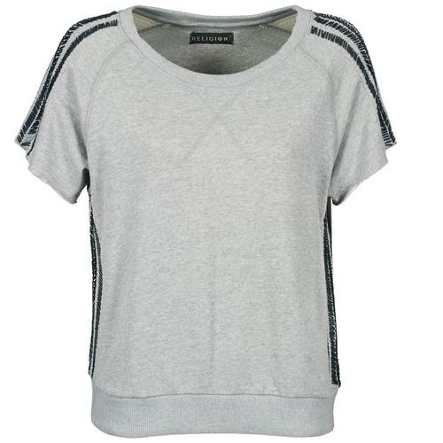 Clothing Women Short-sleeved t-shirts Religion B114HRW02 Grey
