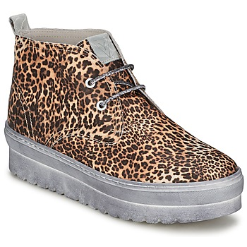 Shoes Women Hi top trainers Ylati BAIA F Leopard