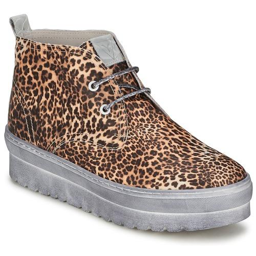 Shoes Women Hi top trainers Ylati BAIA F Leopard