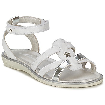 Shoes Girl Sandals Mod'8 HOPAL White