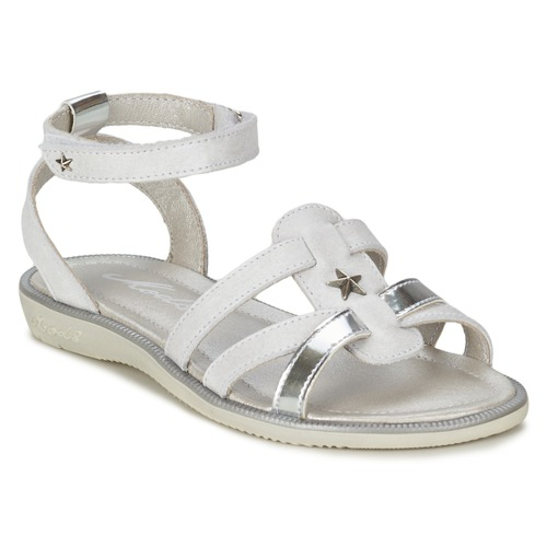 Shoes Girl Sandals Mod'8 HOPAL White