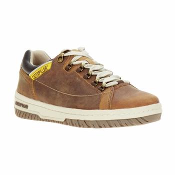 Shoes Men Low top trainers Caterpillar APA Brown