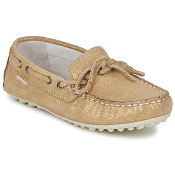 Shoes Girl Loafers Garvalin KIOWA JUVENIL Gold