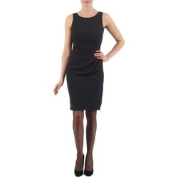 Clothing Women Short Dresses Esprit BEVERLY CREPE Black