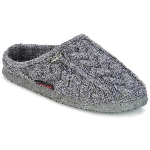 Shoes Men Slippers Giesswein NEUDAU ANTHRACITE