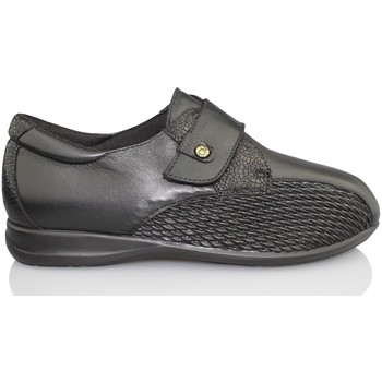 Shoes Women Loafers Calzamedi special width BLACK