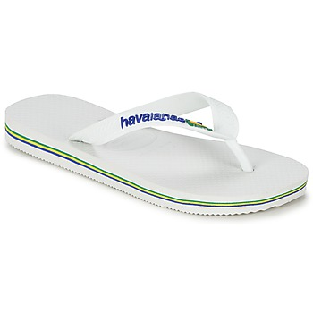 Shoes Children Flip flops Havaianas BRASIL LOGO White