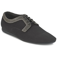 Shoes Men Derby Shoes Schmoove FIDJI CLUB Black / Grey