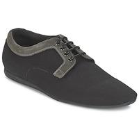 Shoes Men Derby Shoes Schmoove FIDJI CLUB Black / Grey