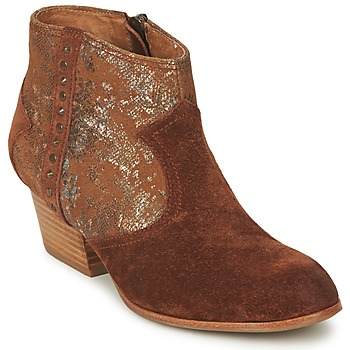 Shoes Women Mid boots Schmoove WHISPER VEGAS Brown / Glitter