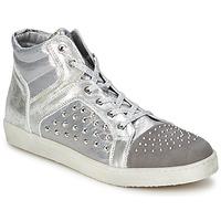 Shoes Women Hi top trainers Hip 90CR Silver croco