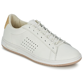 Shoes Low top trainers Le Coq Sportif ARTHUR ASHE RAFFIA Cream