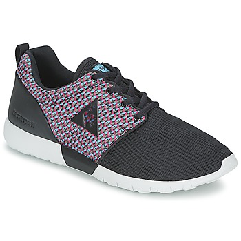 Shoes Men Low top trainers Le Coq Sportif DYNACOMF GEO JACQUARD Black