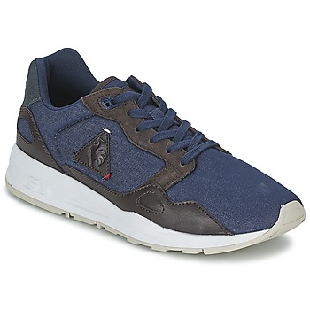 Shoes Men Low top trainers Le Coq Sportif LCS R900 CRAFT DENIM Blue / Reglisse