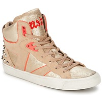 Shoes Women Hi top trainers Ash SPIRIT Beige / Pink