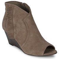 Shoes Women Shoe boots Ash DRUM Taupe
