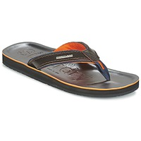 Shoes Men Flip flops Superdry KRUGER TOE POST Brown