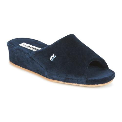 Shoes Women Slippers Romika Westland Paris Marine