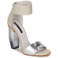 Shoes Women Sandals Miista JAYDA White / Silver