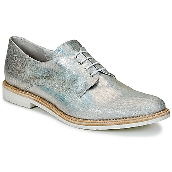 Shoes Women Derby Shoes Miista ZOE Silver / Sparkling