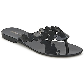 Shoes Women Flip flops Melissa SALINAS HEART  BLACK