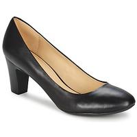 Shoes Women Heels Geox MARIECLAIRE MID  BLACK