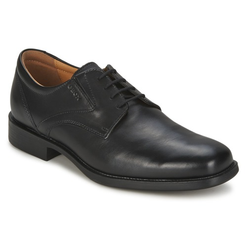 8338d4452f5306 Geox FEDERICO Black - Free delivery | Spartoo UK ! - Shoes Derby ...