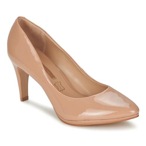 Shoes Women Heels Buffalo PIKKIMA Nude