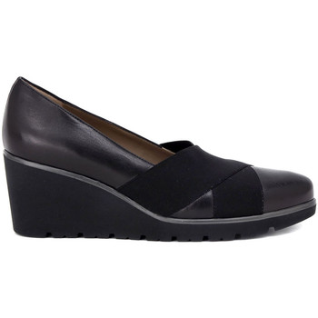 Shoes Women Flat shoes Melluso ZEPPA BLACK Nero