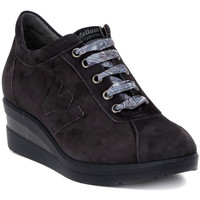 Shoes Women Low top trainers Melluso ALLACCIATA LAPIS Nero