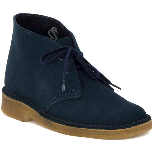 Shoes Women Low top trainers Clarks DESERT BOOT  W   MIDNIGHT    157,5