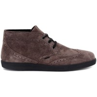 Shoes Men Low top trainers Frau SUEDE BLU Marrone