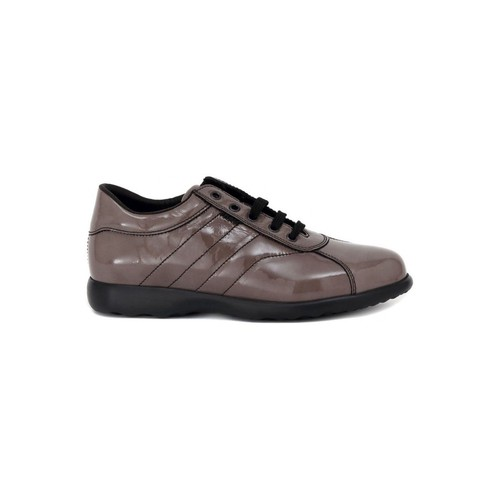 Shoes Women Low top trainers Frau SHINE TAUPE Multicolore