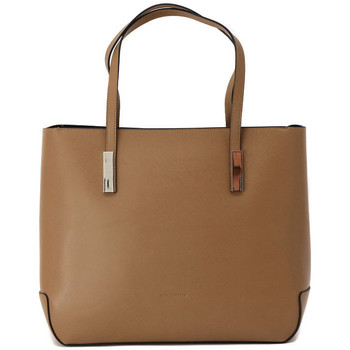 Bags Women Shopping Bags / Baskets Coccinelle BESS CAMEL Multicolore