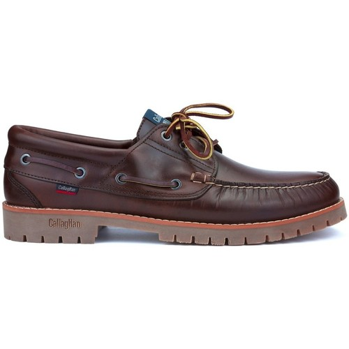 Shoes Men Boat shoes CallagHan CICLON SEAHORSE TANKE BROWN