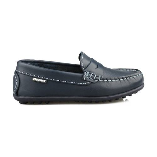 Shoes Women Loafers Pablosky RIDER M BLUE