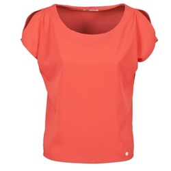Clothing Women short-sleeved t-shirts Les P'tites Bombes S145003 Red