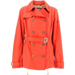 Clothing Women Trench coats Geox W5220E T2205 Jacket Women Red Red