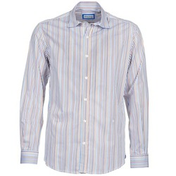 Clothing Men long-sleeved shirts Serge Blanco DORILANDO Multicoloured