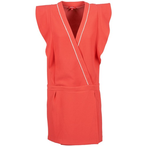 Clothing Women Short Dresses Derhy TAIN Coral
