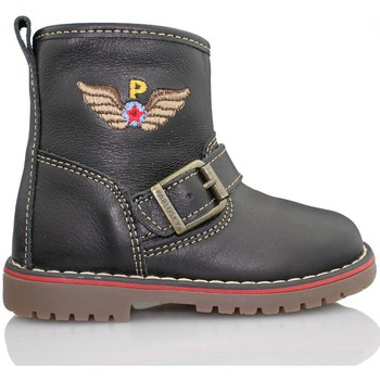 Shoes Children Mid boots Pablosky TOMCAT BOOTS BLACK