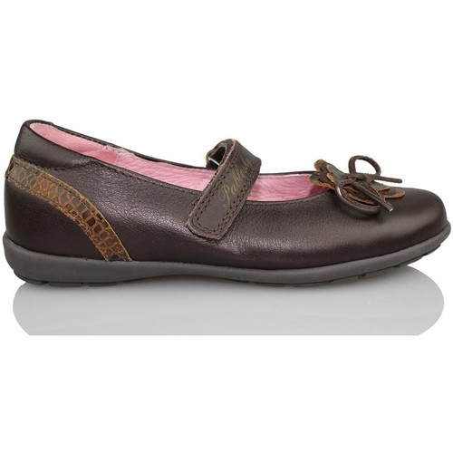 Shoes Girl Flat shoes Pablosky OPERA BROWN