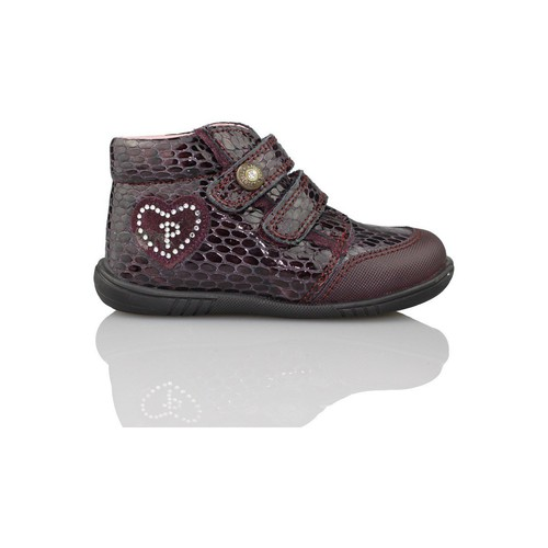 Shoes Girl Mid boots Pablosky VIPERA RED