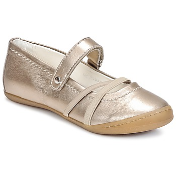 Shoes Girl Flat shoes Primigi LISBONA 1-E Bronze