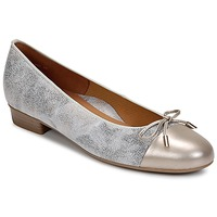 Shoes Women Flat shoes Ara ELIALE Grey / Gold