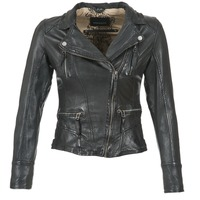 Clothing Women Leather jackets / Imitation leather Oakwood 60861 Black