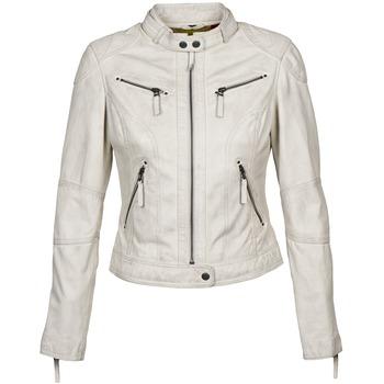 Clothing Women Leather jackets / Imitation leather Oakwood 60135 White