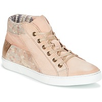 Shoes Women Hi top trainers Dream in Green MOLIMELA Pink